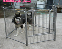 Many colors portable dog kennel,sloping dog cages