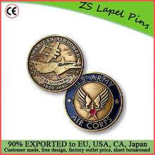 Free artwork design custom quality P-38 Army Air Corps Bronze Antique Coin