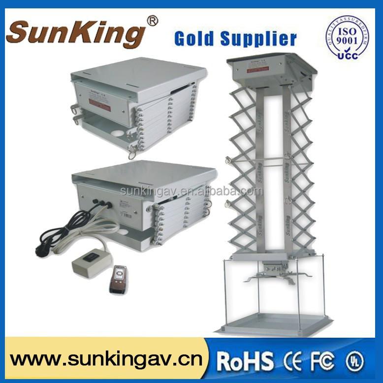 Guangzhou factory hotselling motorized projector ceiling for Motorized ceiling projector mount