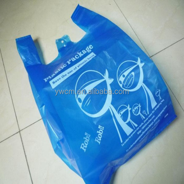 Wholesale 2015 alibaba china biodegradable plastic t shirt for Cheap t shirt bags wholesale