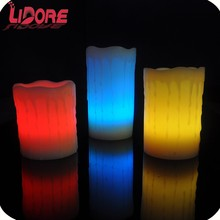 LIDORE Hot Selling Remote Control Smart Living Flameless Led Candle