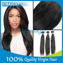 24 inch 100% Unprocessed Short Indian Remy Natural Straight Hair Weave 6a Grade Virgin Hair Indain Hair