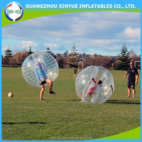 2015 hot sale PVC bumper bubble ball for soccer