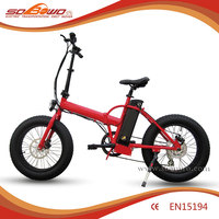 500W brushless motor chopper electric bike with 48V battery
