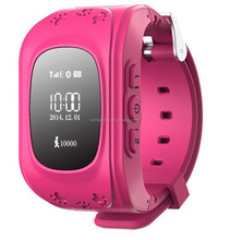Wrist watch phone gps tracking device for kids, Sos calling child watch