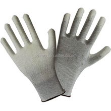 Soft Polyester lining PU dipping working gloves