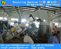 plastic granulation line for recycling pe/pp films/bags