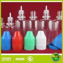 10ml,15ml,20ml PET plastic nicotine oil bottles, PET Nicotine oil bottless