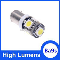 Ba9s LED 5050 5SMD 24V 12V led car lamp led car bulb light Ba9s socket