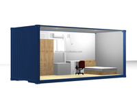 customized ISO container house for dormitory/prefab house