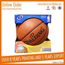 Custom various creative cardboard box for basketball