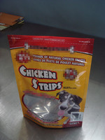 plastic chicken strips packaging bag
