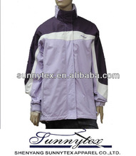 SUNNYTEX OEM 2015 custom outdoor clothing padding fleece jacket european style