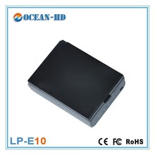 Replacement LP-E10 for Canon li-po battery 7.4v power supply