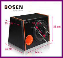 12 inch car subwoofer with wood box high quality H2-6