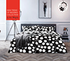 Frozen bedding set adult black and white trees cotton fabric for bed linen bed sheet set wholesalers china