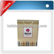 Eco friendly China factory foldable custom reusable paper shopping bag
