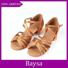 China Manufacturer Children Latin Dance Shoe salsa dancing shoes for girls BD064