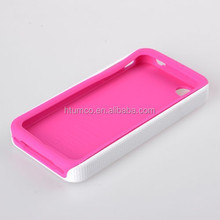 Newly design premium PU phone cover, cellphone case, back cover case for Apple iPhone 4/ iPhone 4 CDMA