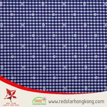 Pilling resistance blue drapery upholstery fabric jacquard shiny fabric