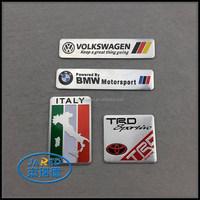 High quality metal private nameplate metal badge metal label