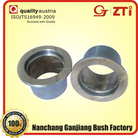 oil free boundary lubrication slide shoulder bushing