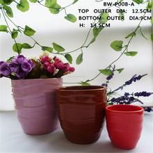 piantain vaso vaso di ceramica