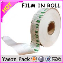 Yason pet twist film roll clear star-sealed garbage bags on roll custom chia seed packaging