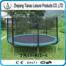 outdoor playground equipment green bungee trampolin one person the trampoline 13ft TA13-811-4
