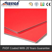 Alusign hot sell standard size 4''*8'' acp aluminum trailer side panel