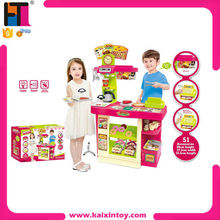 Best Selling Shopkins Toys Plastic Play Food Kitchen Set Toy