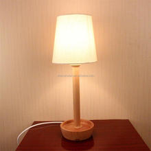 2015 new style wooden table lamp for living home decoration