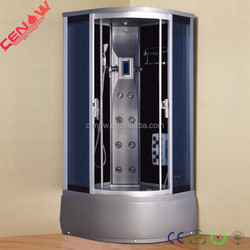 Europe model grey ABS back wall shower cabin CW-631