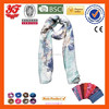 2015 new fashional Scarves Soft confortable Customized flowers Polyester Scarf
