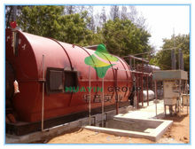 USED TIRE PYROLYSIS OIL MACHINE EXPORTED TO RUSSIA AND PAKISTAN