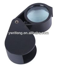 2014 high quality Optical Instruments magnifying glass key chain Magnifiers magnifying visor
