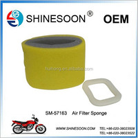 High performance and low price air filter for motorcycle spare part