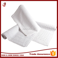 Wholesale factory supply cheap stock jacquard hotel bath mat