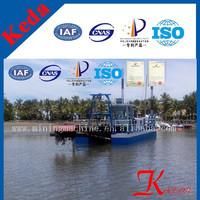 Fiji sand dredging machine Trailing Suction Hopper Dredger for sale