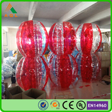 Funny inflatable games tpu bumper ball/ buddy bumper ball/ human bumper ball