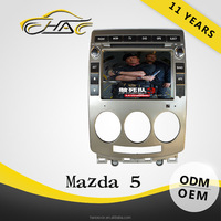 Car DVD With GPS For Mazda 5 Radio Audio System Built In Bluetooth Support Hand Free Call