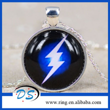 Silver Pendant Long Chain Hot Sale The Flash Necklace