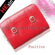 2015 New Fashion Woman Short Wallet lady's zipper Purse
