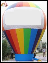 Advertising Hot-Air-Balloon Shaped Cold Air Inflatable Balloon