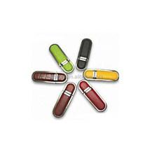 Wholesale super high leather mini usb with keychain flash drive pen driver, Corlorful leather usb sticks