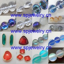 fancy glass beads, many shapes and colors avaliable