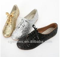 glitter blingbling shoes fashion flat summer shoes 2014 for women