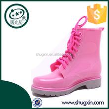 camo rain boots for women women flat shoes B-817