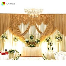 IDA drapes for weddings, drapes for party, drapes for stages (IDAB1608)