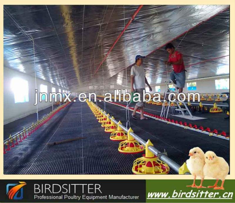 Comercial equipo de pollo